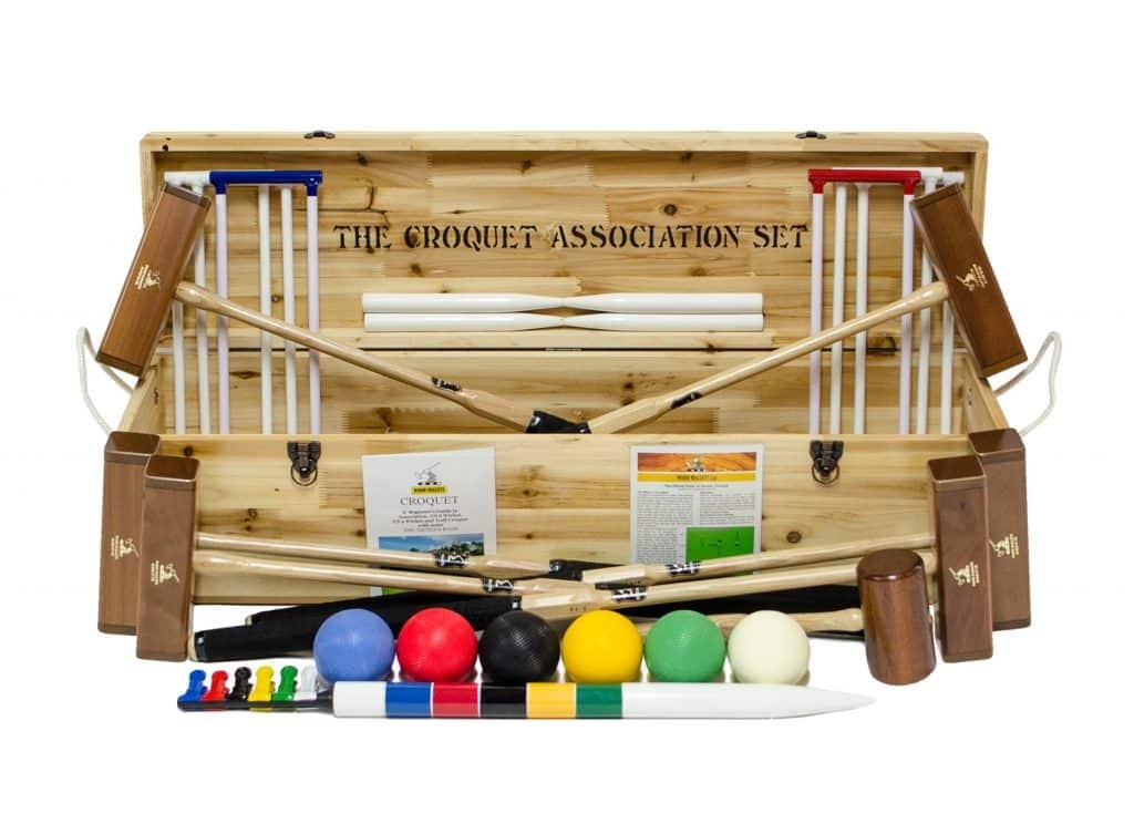 Wood Mallets - Croquet Association Set (6 Player)